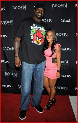 Shaq And Hoops Was Recently At A Red Carpet Making Out For The Cameras Rumors Have Been Swirling That They Are No Long A Couple Ef Bb Bf Well I Guess They Wanted