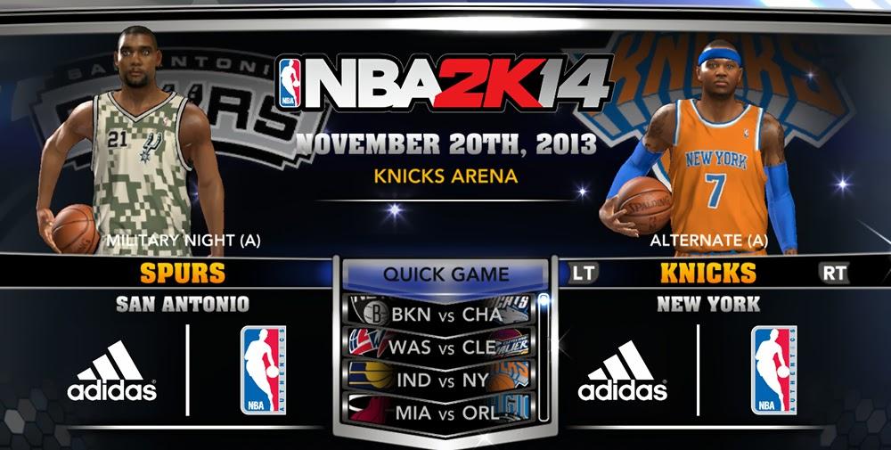 NBA 2K14 Official Roster Update November 20 2013