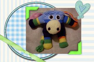 precious crochet amigurumi donkey toy pattern