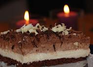 Suklaa-juustokakku