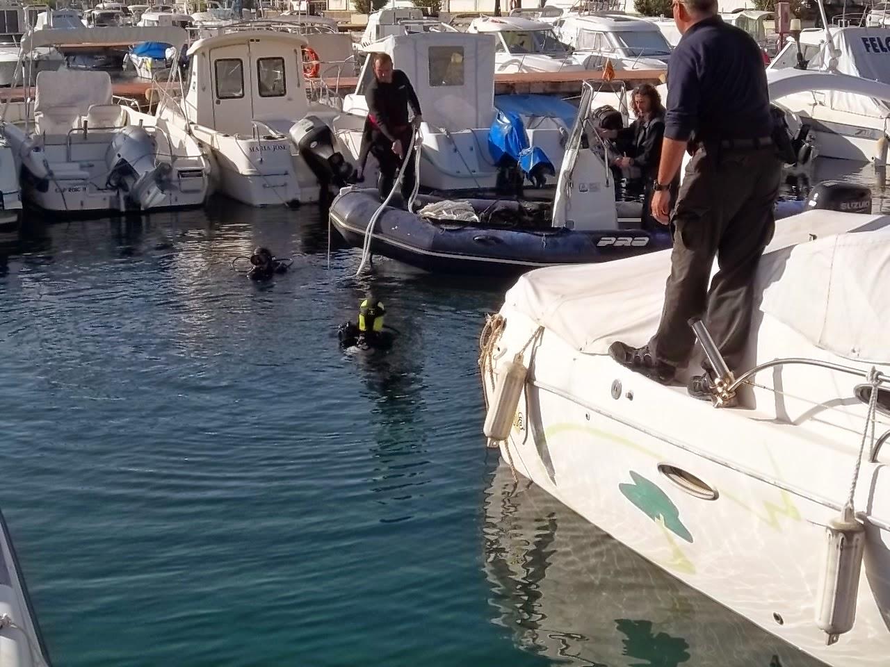 Inspecciones de puertos - Trabajos marinos