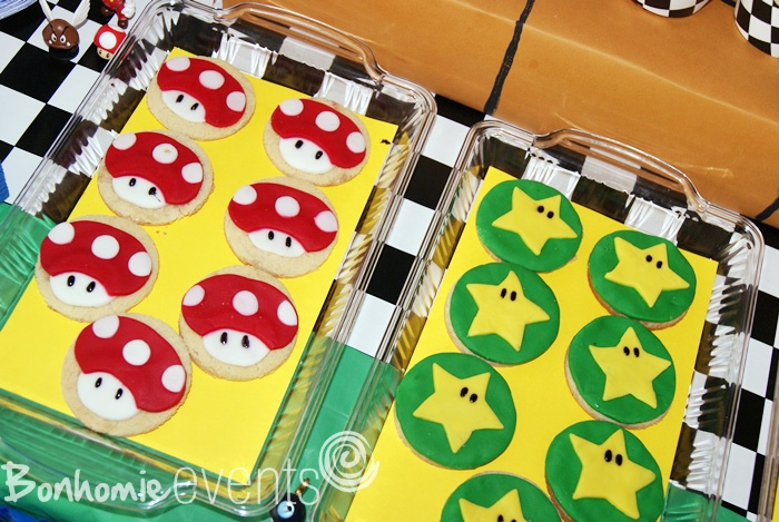 super mario fondant toppers by bonhomieevents.com