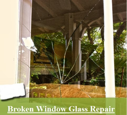 How To Repair Broken Window Glass