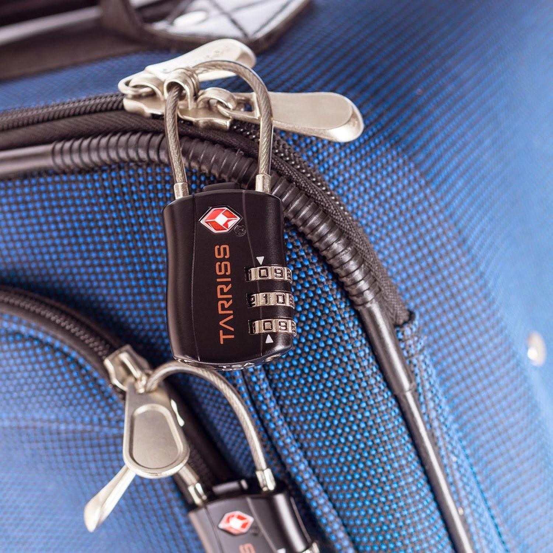 Jetsetter TSA Luggage Lock by Tarriss