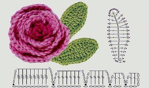 CARAMELO DE CROCHET: pequeñas flores