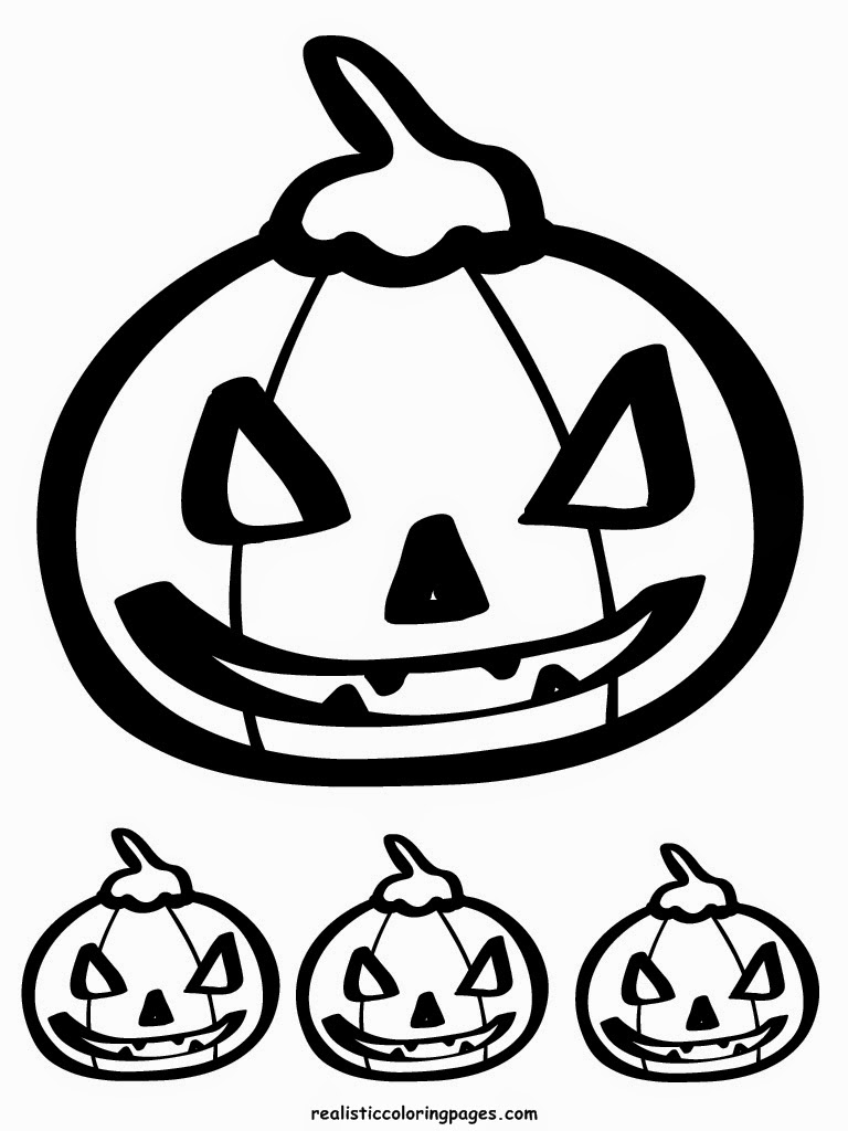scarry jack o lantern halloween coloring pages