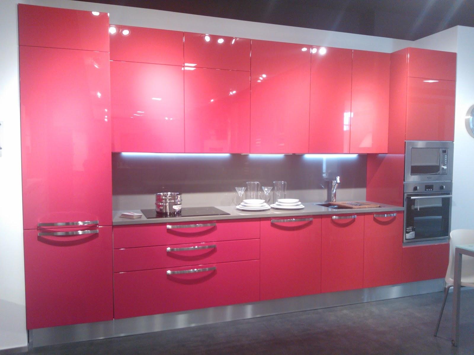 Cucine Rosse. Finest Beautiful Cucina Rossa Laccata Photos Acomo Us ...