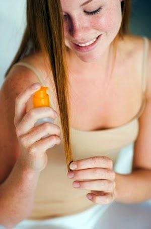 cara membuat spray pelindung rambut sendiri