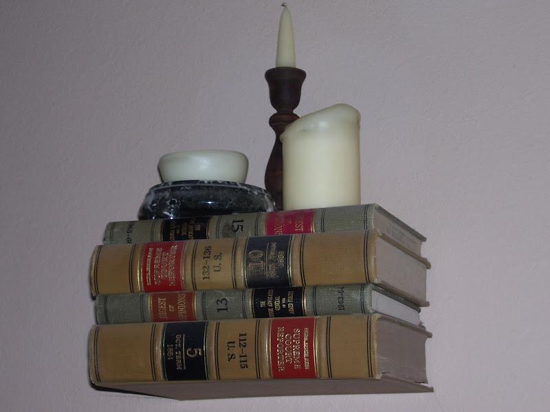 Floating Book Bookshelves