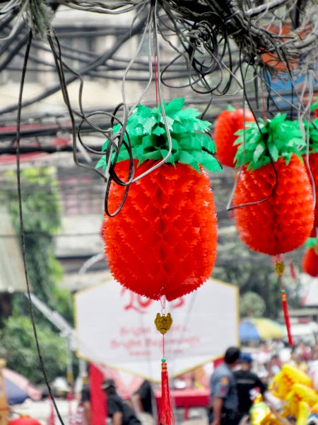 More Chinese lanterns in Chinatown