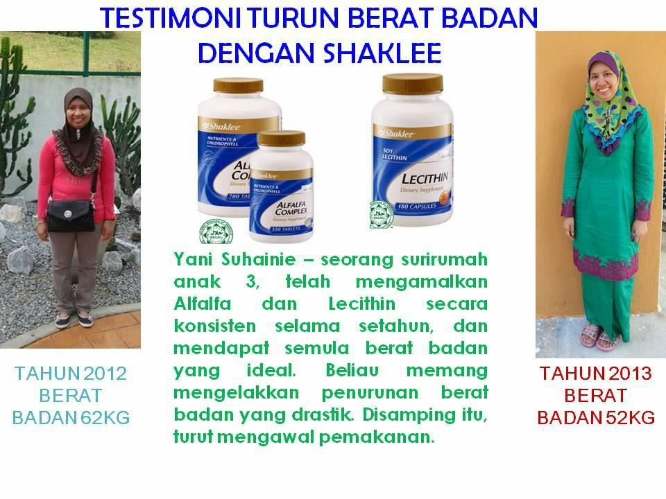 testimoni slimming set