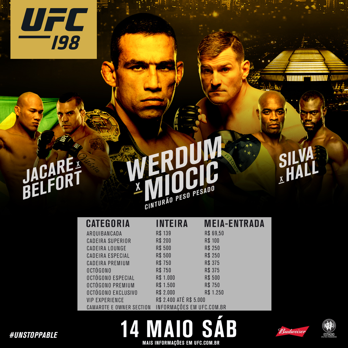 Imagens UFC 198: Werdum x Miocic Torrent 1080p 720p BluRay Download