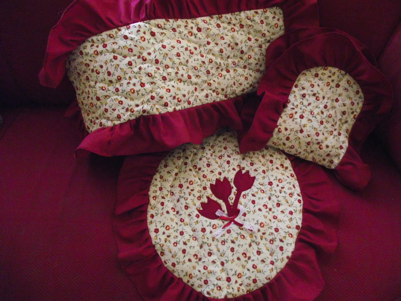 Set De Baño En Genero:Como Hacer Juego De Bano En Crochet
