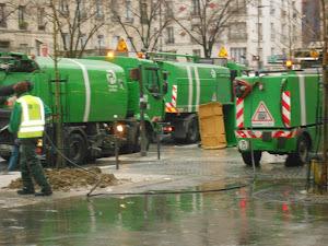 NETTOYAGE DES RUES PARIS