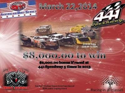 The American Dirt Series Comes To 441 Speedway