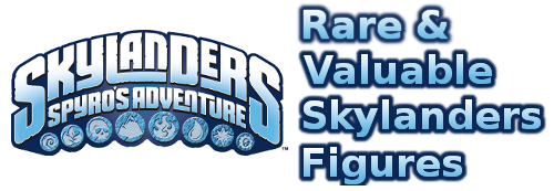 Rare Skylander Figures