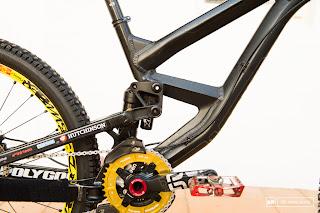polygon bikes, mick hannah, sik mik, world champ 2013, hutchinson ur team, downhill bikes prototype