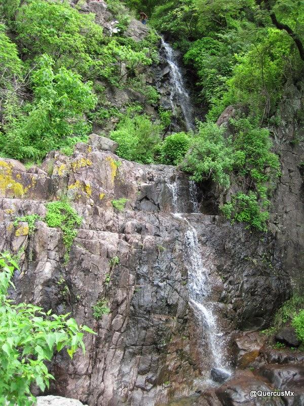 Cascadas en el arroyo El Tepalo - Ajijic