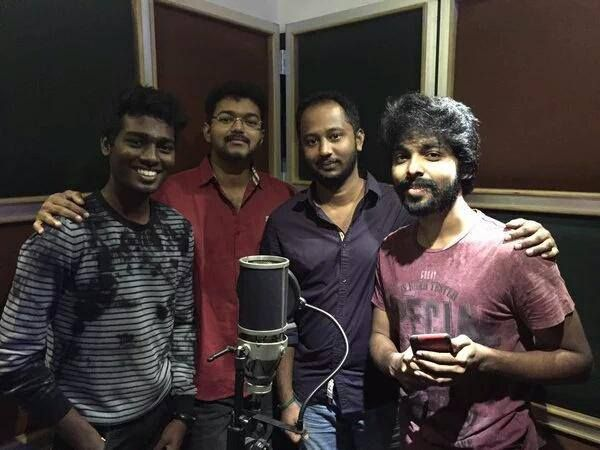 Vijay Sings a song Chellaakutty in Vijay 59 Movie