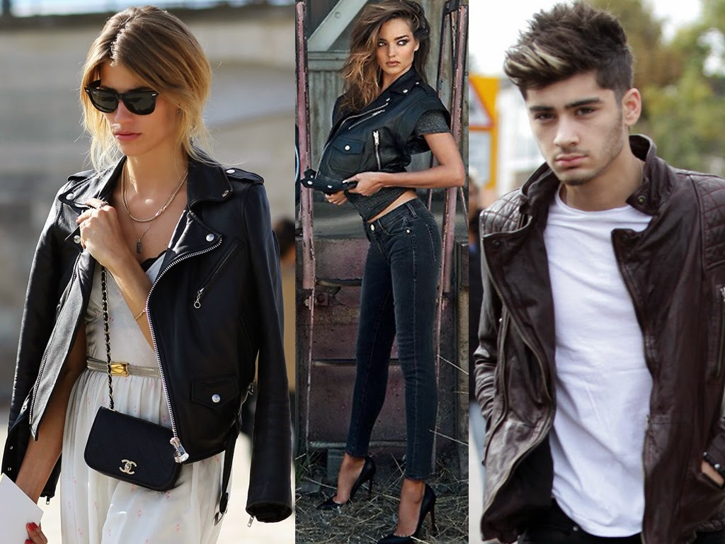 fashion blog, leather jacket, womens fashion, unisex fashion, mens fashion, leather, pleather, how to wear leather jacket, what to wear with leather jacket, leather jacket outfit, inspiration, miranda kerr leather jacket, zayn malik leather jacket, celebrities