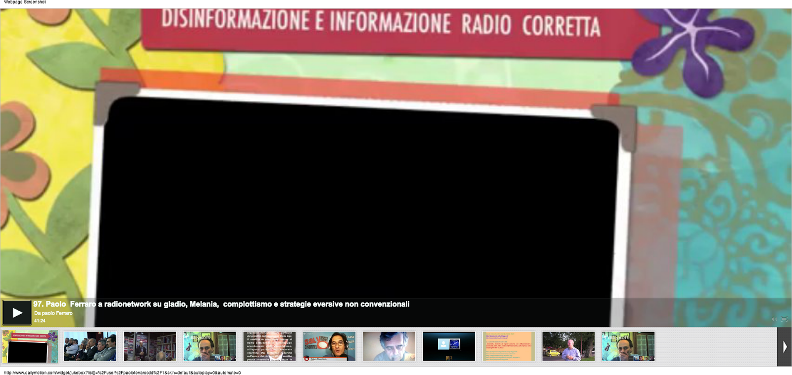VIDEO CONFERENZE CDD DAILY MOTION Jukebox Wall Zap - YOUTUBE VIDEO LIST - CDD UNIONE CHANNEL SU VIM