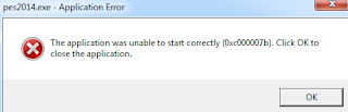 "Mudah!!! Cara Mengatasi ""The application was unable to start correctly (0xc000007b)"""