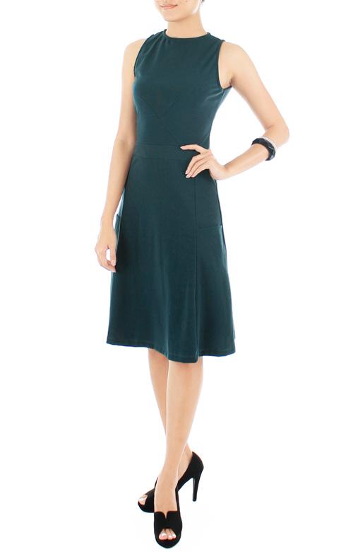 Moon Dancer LUXE Midi Dress – Pine Green