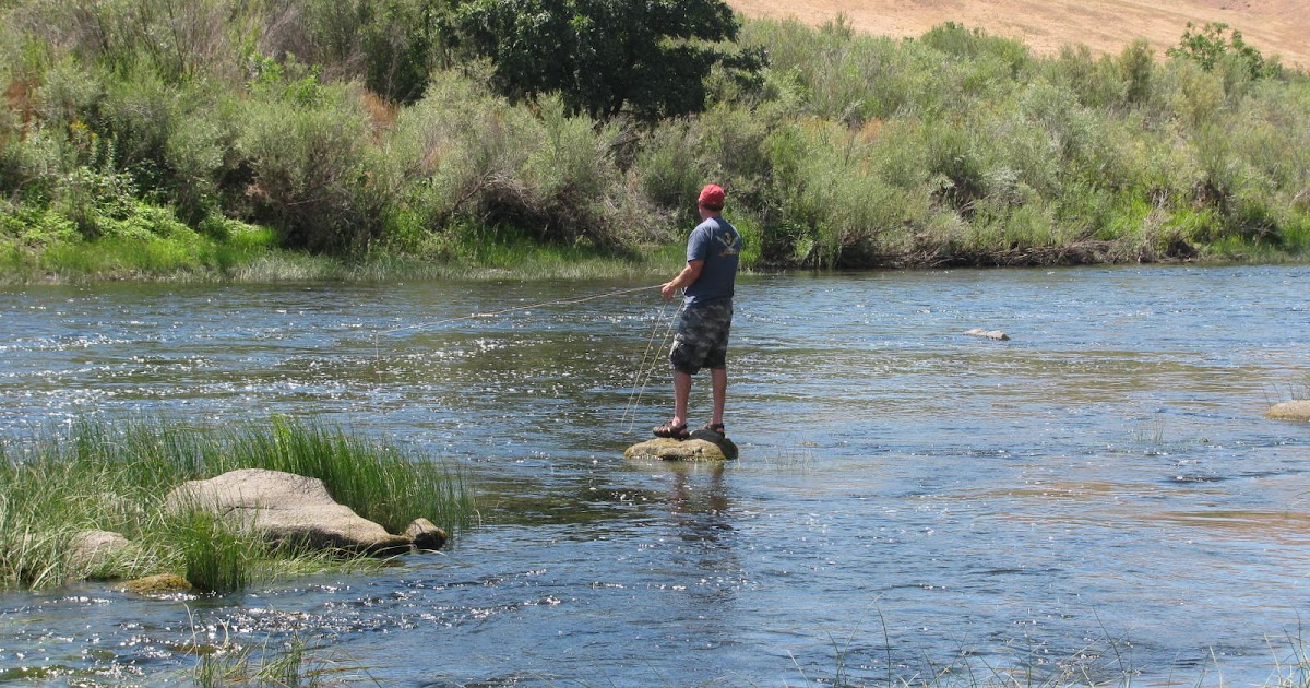 Fly fishing with doug stewart scouting the john day river for John day river fishing