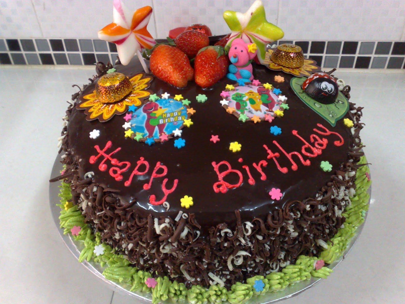 Dekorasi kek anak-anak