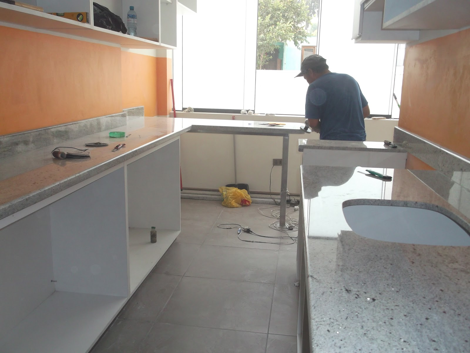 Tableros cocina granito marmol lima tableros de cocina en - Tipos de marmol para cocina ...