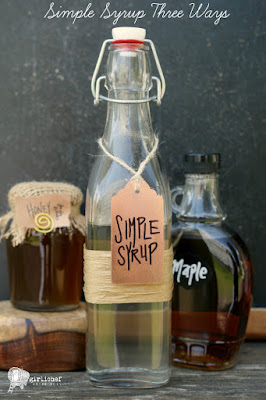 Simple Syrup Three Ways