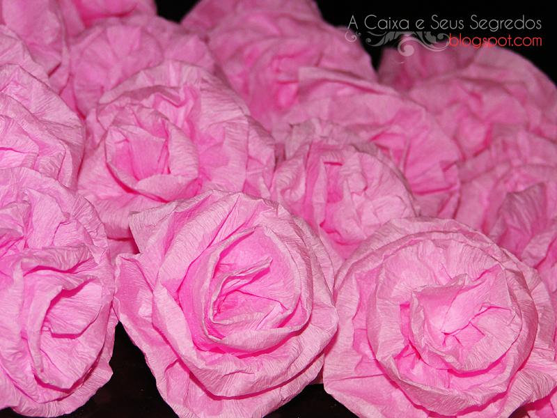A Caixa E Seus Segredos Topiaria De Flores De Crepom