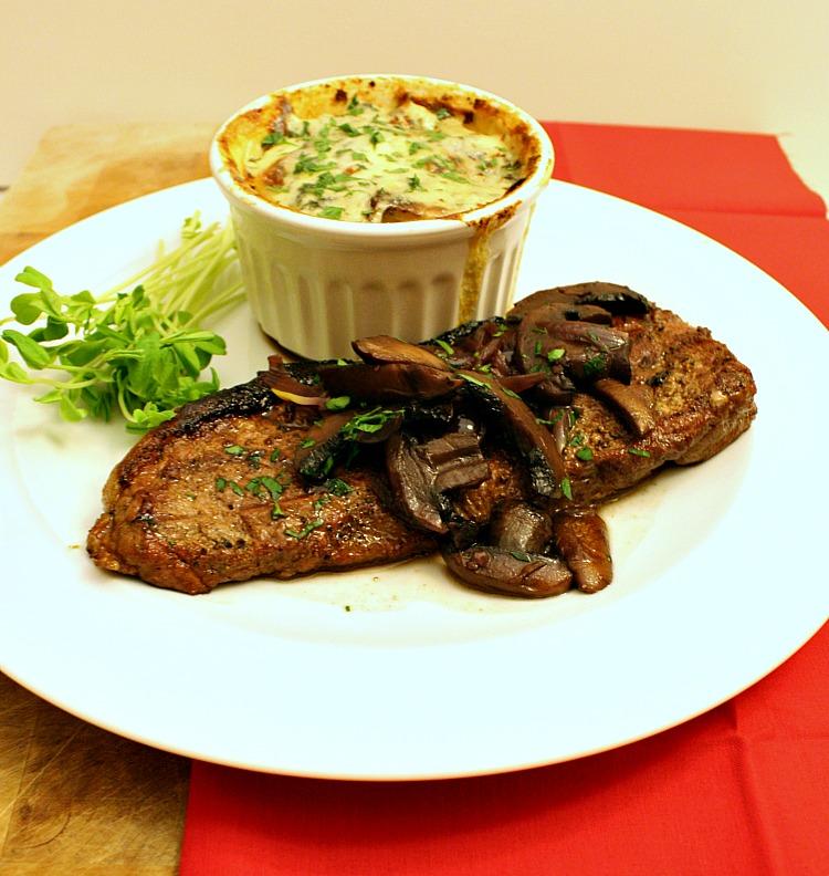 Vanilla Clouds and Lemon Drops: Steak with Red Wine, Mushroom ...