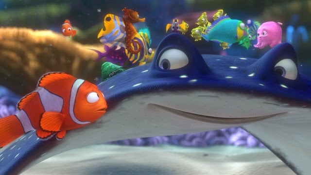 Finding Nemo Characters Mr Ray The stages of h...