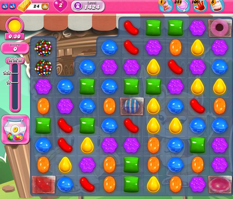 Candy Crush Saga 1424