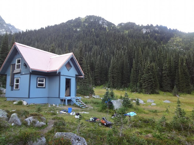Brian Waddington Hut, VOC Hut, Long Lake