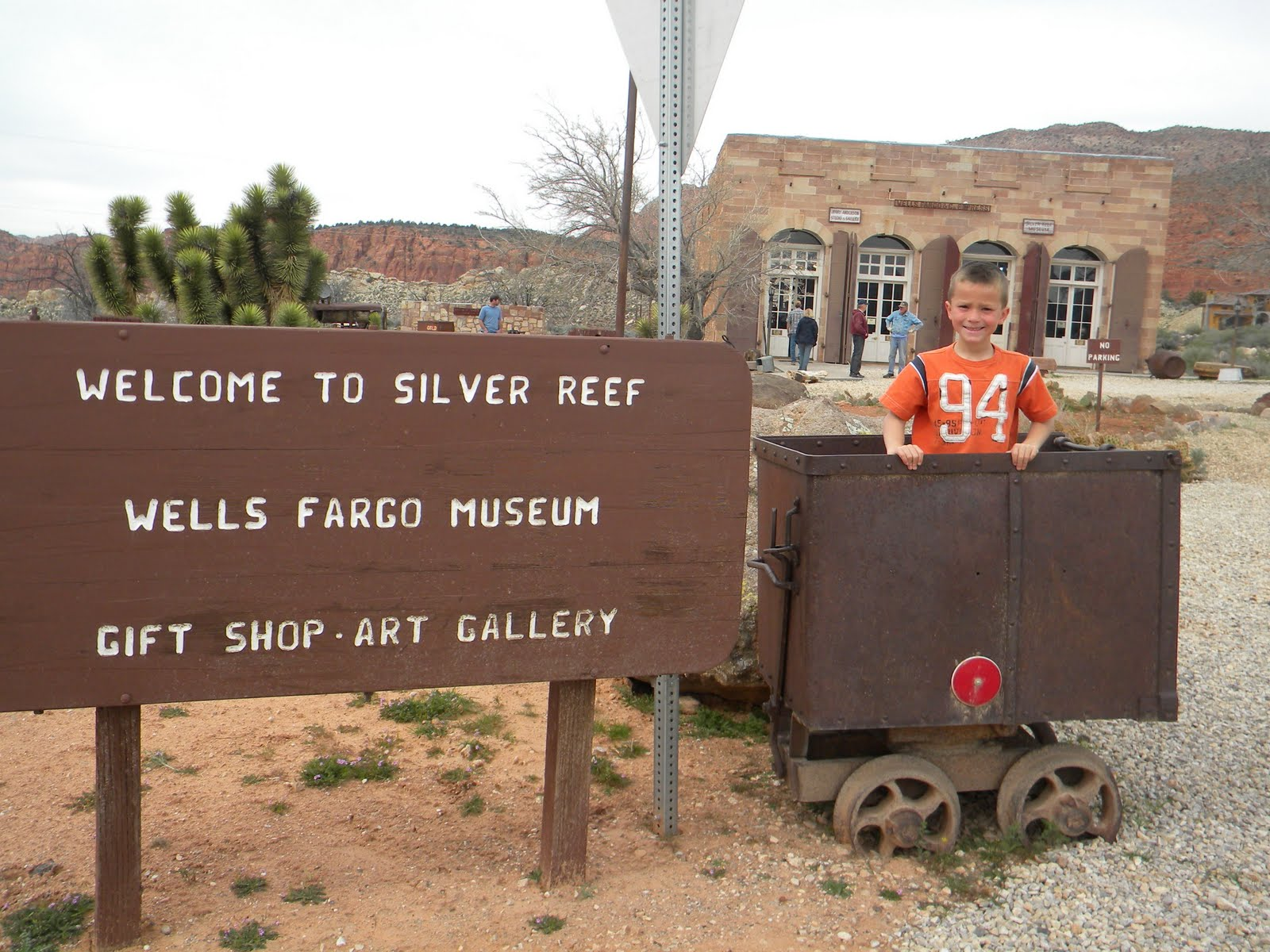 Silver Reef Ghost Town