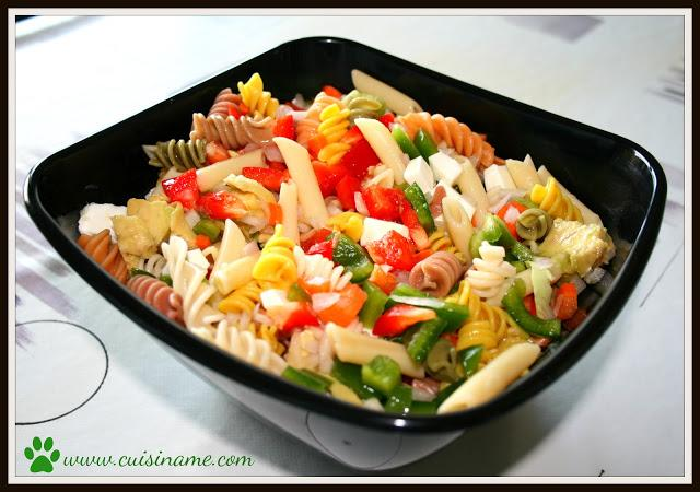 Recetas de cocina cuis name - Ensalada de arroz light ...