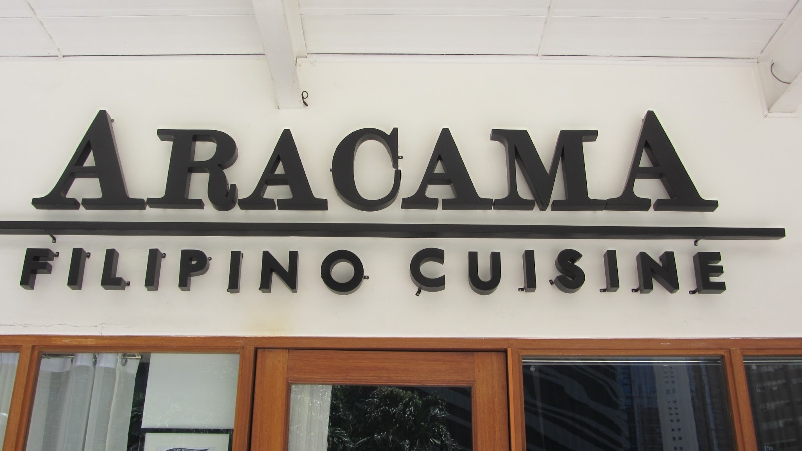 Aracama filipino cuisine at the fort walkandeat for Aracama filipino cuisine