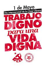 Manifestación del 1º de Mayo en Málaga