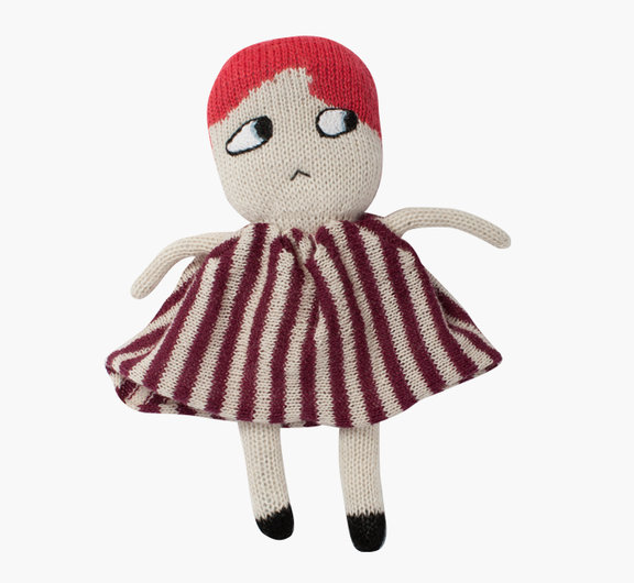 knitted dolls by lucky boy sunday
