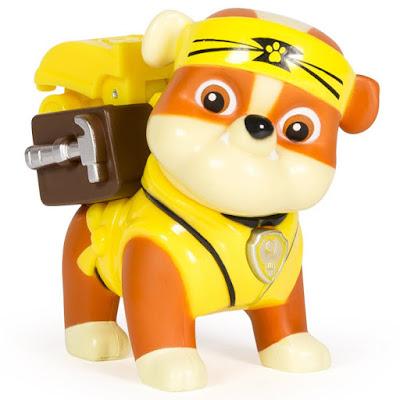 TOYS : JUGUETES - PAW PATROL : La Patrulla Canina Hero Pup - Pup-Fu Rubble : Karate | Figura - Muñeco 2015 | Serie Television Nickelodeon Spin Master - Bizak | A partir de 3 años Comprar en Amazon España & buy Amazon USA