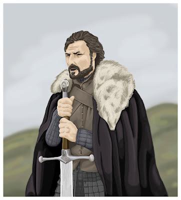 Dibujo Ned Stark