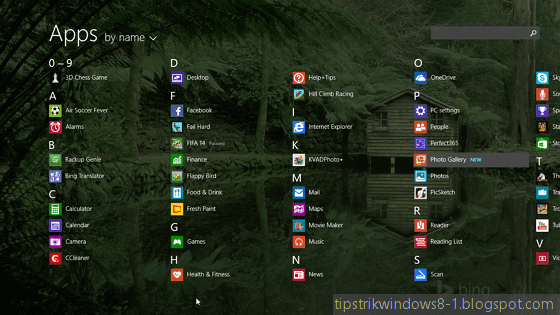 all apps alias apps view di windows 8.1