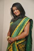 glamorous Anu Sri saree photos-thumbnail-15