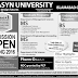 ABASYN University Admission 2016 BS MS Online Spring
