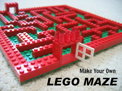 Lego Maze by Christa of Controlling Craziness