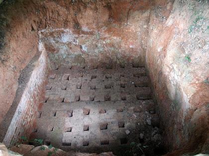 La cambra de cocció del Fornot de Puigdomènec