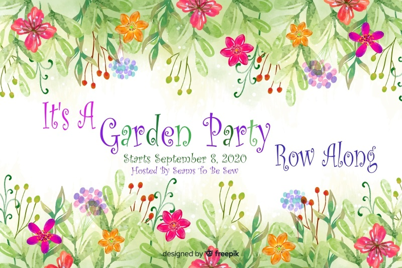 Garden Party Row Along