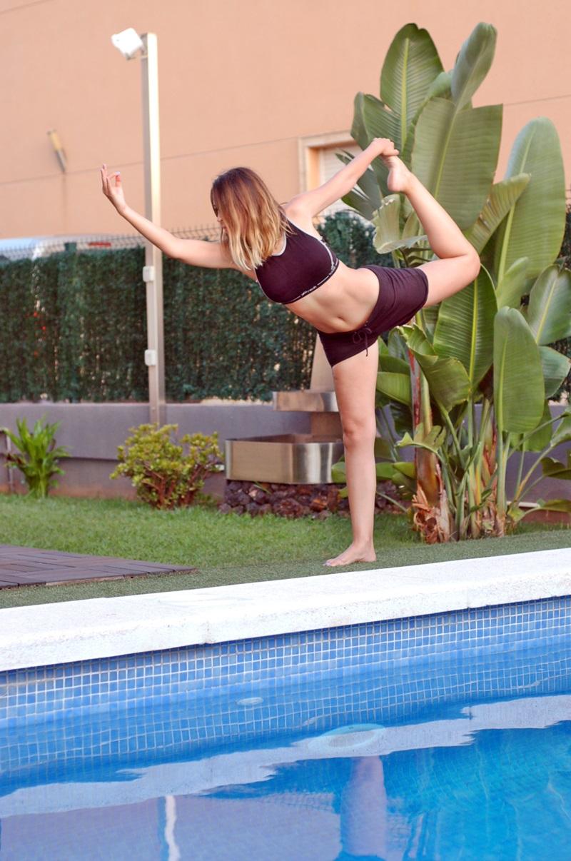Natarajasana o el Bailarín Yoga